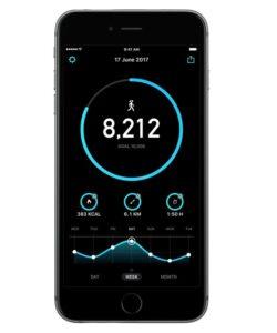smartphone pedometer